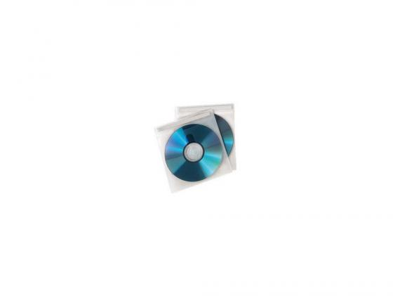Конверты Hama для 2 CD/DVD полипропилен белый/прозрачный 50шт H-78323 hama h 108759 для 37 70 белый