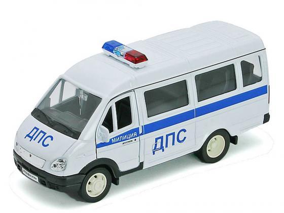 цены Полицейская машина Welly Газель ДПС 1 шт 19 см белый 42387APB
