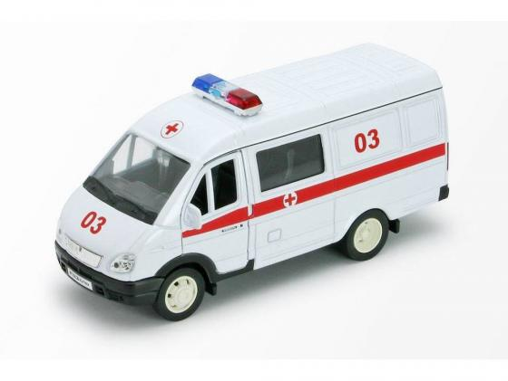 Автомобиль Welly Газель Скорая помощь 1:34-39 42387BA welly welly набор служба спасения скорая помощь 4 штуки