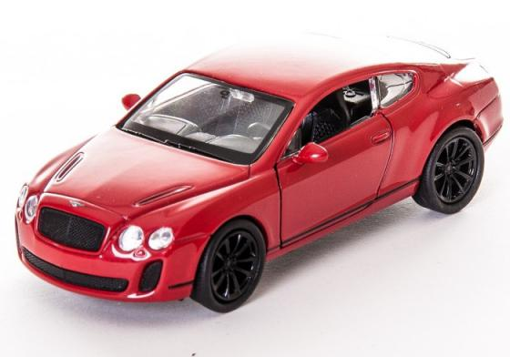Автомобиль Welly Bentley Continental Supersports 1:34-39 цвет в ассортименте welly bentley continental supersports велли welly