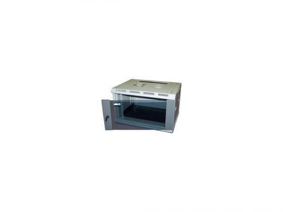 Шкаф настенный 12U Lanmaster TWT-CBW2-12U-6X4 600x450mm стеклянная дверь шкаф настенный 12u lanmaster twt cbwng 12u 6x6 bk 550x600mm черный 60кг