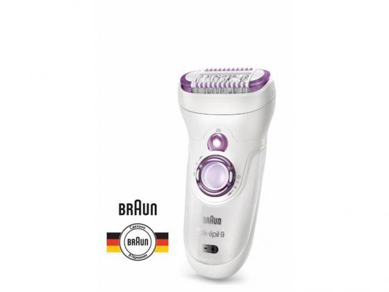 Эпилятор Braun 961V silk epil 9 gifting edition белый 9-961 WD Spa эпилятор braun 7 561 wd