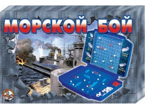 Настольная игра логическая Десятое королевство Морской бой (ретро) 00993 настольные игры десятое королевство игра космический бой 1