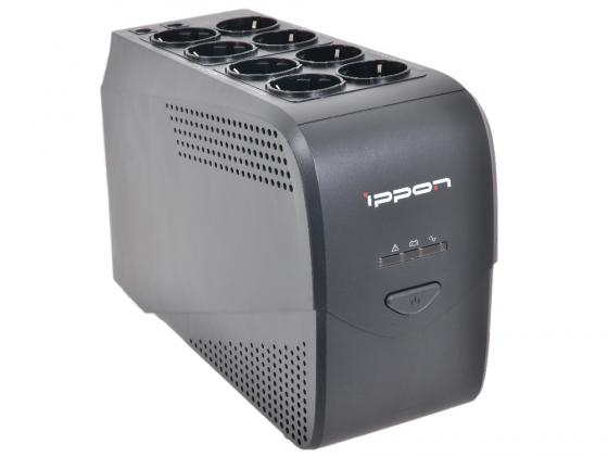 ИБП IPPON BACK COMFO Pro 800VA NEW черный 8 розеток источник бесперебойного питания ippon back power pro lcd 600