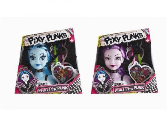 Фото Игровой набор FUNVILLE Кукла-модель Pixy Punks для создания причесок с аксессуарами в ассортименте