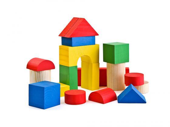Конструктор Томик Цветной 26 элементов 6678-26 томик деревянный конструктор цветной 26 деталей