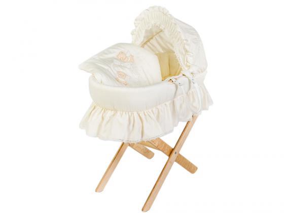 Корзина для переноски Italbaby Sweet Angels (240,0081-6) плетеная корзина italbaby love крем 630 0040 6