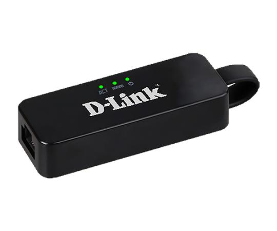 Сетевой адаптер USB D-Link DUB-E100 10/100Mbps Retail сетевой адаптер d link dfe 520tx 10 100mbps oem