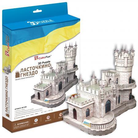 цены 3D-пазл Ласточкино гнездо (Россия) MC129h