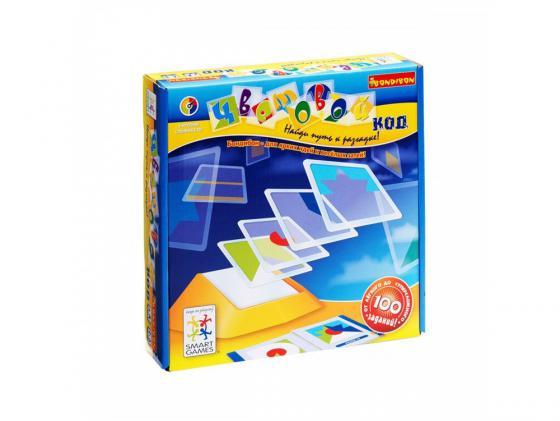 Настольная игра развивающая BONDIBON Цветовой код BB0352 головоломка bondibon цветовой код bb0352 sg 090 ru
