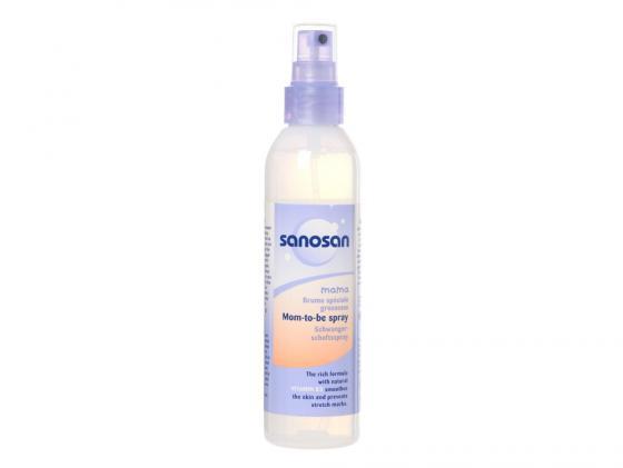 Лосьон-спрей Sanosan от растяжек 200 мл косметика для мамы sanosan крем от растяжек для беременных 100 мл