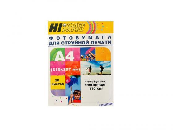 Бумага Hi-Black A2106 А4 170г/м2 глянцевая 20л ваз 2106