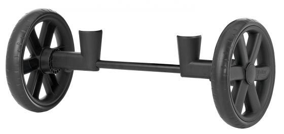 Крепежная вилка с передними колесами для Britax B-Agile (black) цена