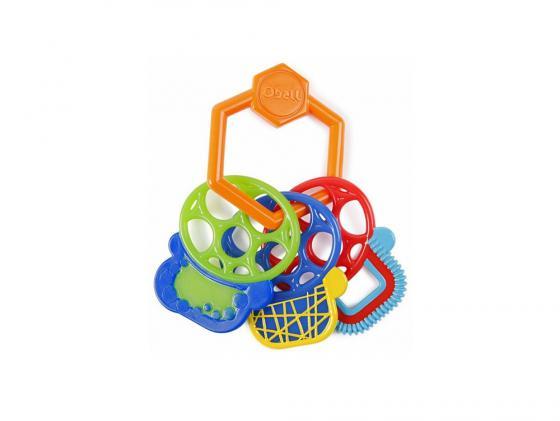 Прорезыватель Oball ключики с 3 месяцев разноцветный прорезыватели oball прорезыватель разноцветные ключики