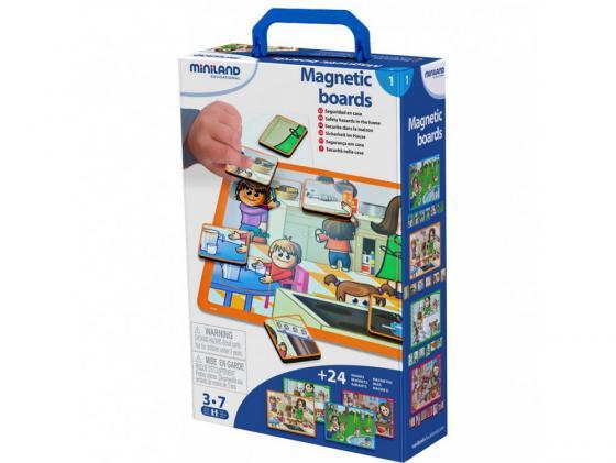 Магнитная игра развивающие Miniland  В доме R31950
