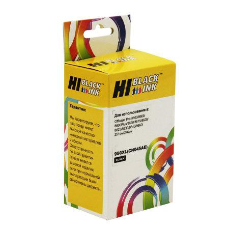 Картридж Hi-Black CN045AE для HP Officejet Pro 8100/8600 черный 2500стр картридж hi black c4907ae для hp officejet pro 8000 8500 голубой 1400стр