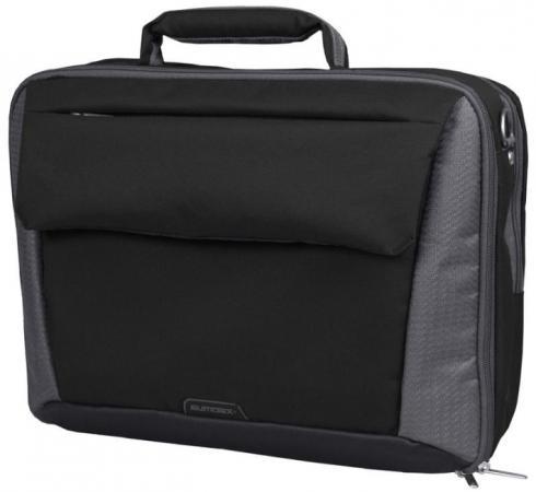 "Сумка для ноутбука 15"" Sumdex PON-302 нейлон-полиэстрер Blaсk сумка для ноутбука 15 sumdex pon 321nv синий"