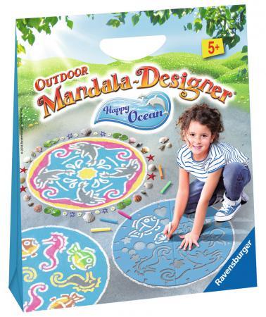 Набор для рисования Ravensburger Мандала для улицы Подводный мир от 5 лет 297726 наборы для творчества ravensburger мандала принцессы