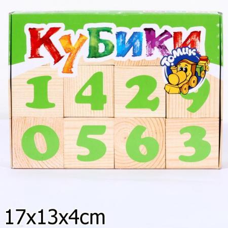 Кубики Томик Цифры 12 шт 1111-3 кубики томик игрушки от 3 лет 4 шт 3333 3