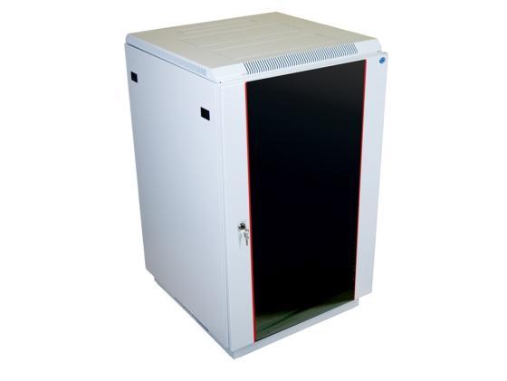 Шкаф напольный 27U ЦМО ШТК-М-27.6.6-1ААА 600x600mm дверь стекло комплект 2 коробки