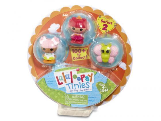 Кукла Lalaloopsy Малютки 3 шт в упаковке 4 см 531517 в ассортименте кукла lalaloopsy mini обезьянка 7 5 см 514220
