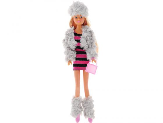 Кукла Simba Steffi Love Снежная вечеринка simba кукла steffi love casual kevin цвет одежды розовый белый синий