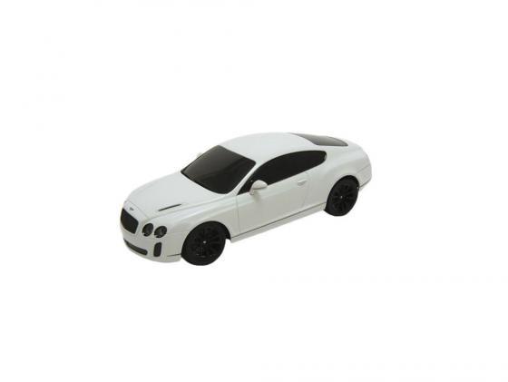 Машинка на радиоуправлении Welly Bentley Continental белый от 3 лет пластик 84003W цена