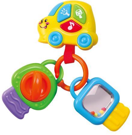 Интерактивная игрушка PlayGo Брелок с ключами от 1 года разноцветный интерактивная игрушка beezeebee сова от 1 года разноцветный вее019