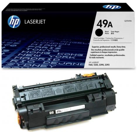 Картридж HP Q5949A для LaserJet 1160 1320 №49А new paper delivery tray assembly output paper tray rm1 6903 000 for hp laserjet hp 1102 1106 p1102 p1102w p1102s printer