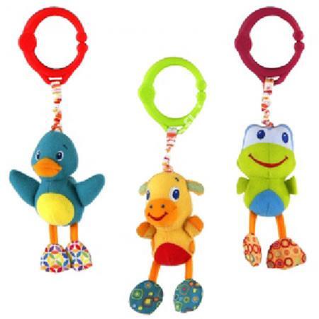 Интерактивная игрушка Bright Starts Дрожащий дружок от 3 месяцев 8808-1-2-3-4 мебельные петли скобы замки dorabeads jewelry hingesantique 6 5 6 x 4 1 10 2015 b56362