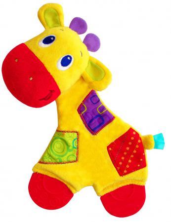 Игрушка-прорезыватель Bright Starts Самый мягкий друг, Жирафик с рождения разноцветный 8916-3 прорезыватель bright starts динозаврик желтый 52029 2