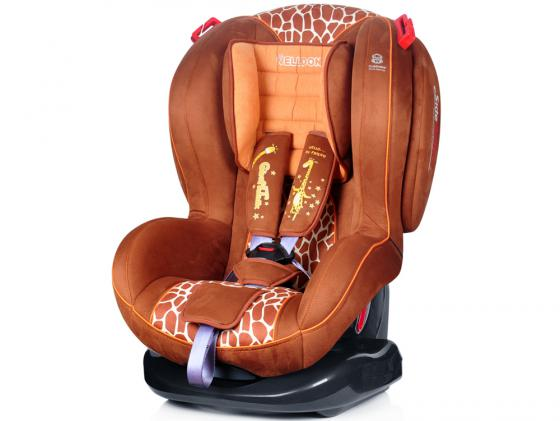 Автокресло Welldon Royal Baby Side Armor & Cuddle Me (giraffe talk)