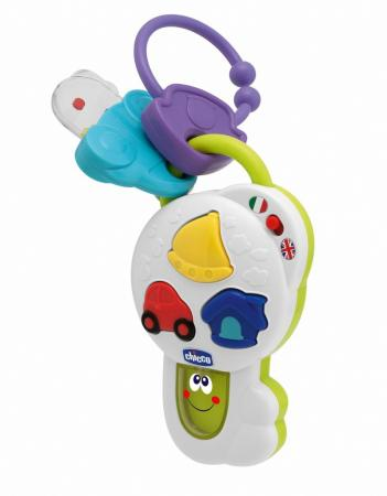Развивающая игрушка Chicco Говорящий ключик chicco развивающая игрушка mr ring
