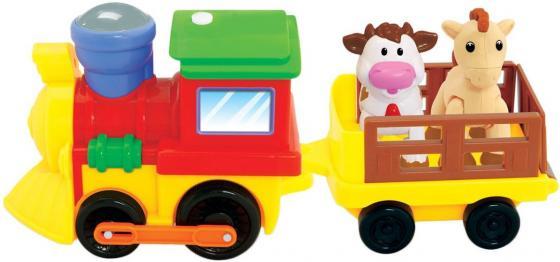 Развивающая игрушка KIDDIELAND Поезд с животными 050096