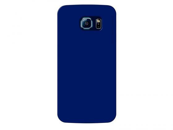 Чехол Deppa Sky Case и защитная пленка для Samsung Galaxy S6 синий 86037 все цены