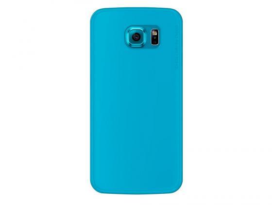 Чехол Deppa Sky Case и защитная пленка для Samsung Galaxy S6 голубой 86038