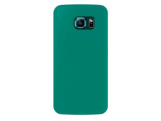 Чехол Deppa Sky Case и защитная пленка для Samsung Galaxy S6 edge зеленый 86044 все цены