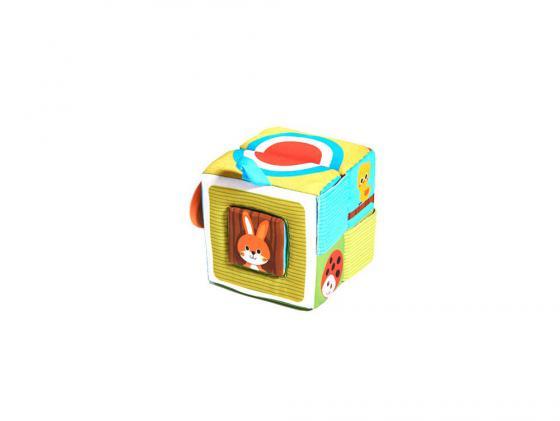Развивающая книжка Tiny Love КУБ 150270Е001 развивающая игрушка tiny love текстурированая книжка подвеска лесное озеро 448