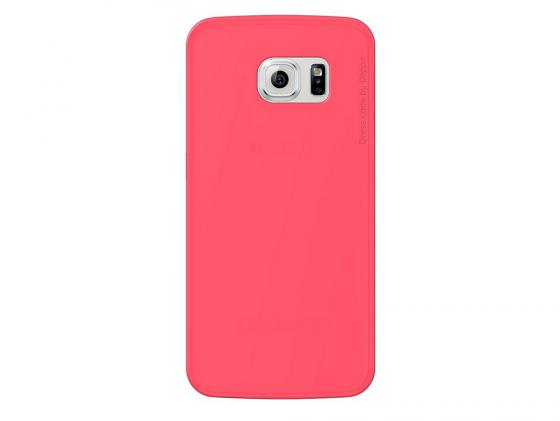 Чехол Deppa Sky Case и защитная пленка для Samsung Galaxy S6 edge коралловый 86045 tpu case cover for samsung s6 edge plus