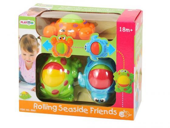 Интерактивная игрушка PlayGo Морские обитатели от 1 года разноцветный 2865 интерактивная игрушка beezeebee сова от 1 года разноцветный вее019