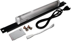 Лампа подсветки Lanmaster TWT-CBW-LAMP в настенный шкаф 19 8W белый свет шнур 2м
