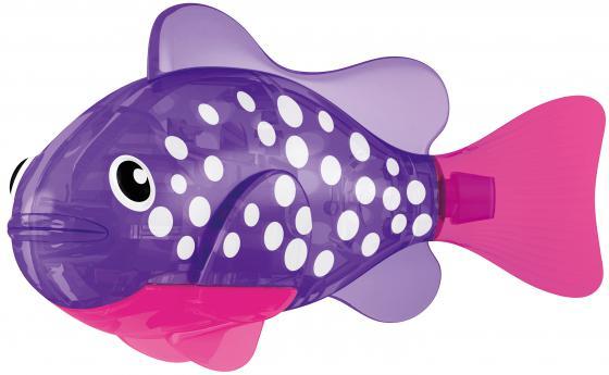 Интерактивная игрушка ZURU РобоРыбка Биоптик от 3 лет фиолетовый 2541E zuru роборыбка немо в поисках дори zuru