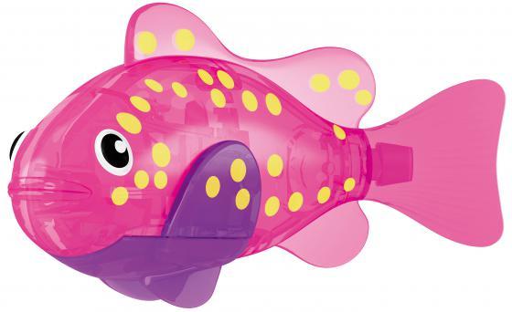 Интерактивная игрушка ZURU РобоРыбка Вспышка от 3 лет розовый 2541F настольная игра zuru inc семейная торт в лицо