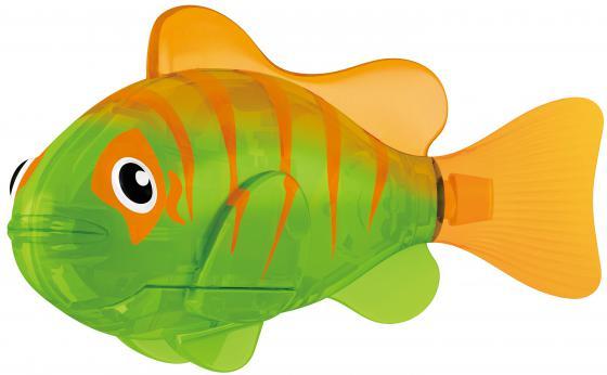 Интерактивная игрушка ZURU РобоРыбка ZURU INC. Гловер (светодиодная) 2541В от 3 лет зелёный 2541В zuru zuru роборыбка на дистанционном управлении