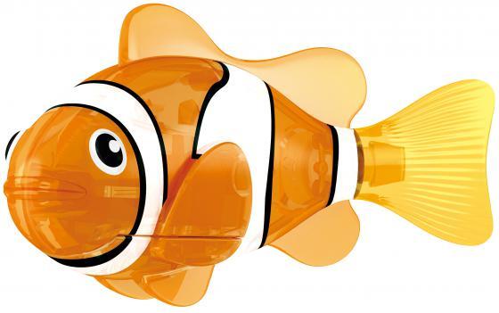 Интерактивная игрушка ZURU РобоРыбка Красная Cирена от 3 лет оранжевый 2541С zuru интерактивная игрушка zuru робо змея красная движение