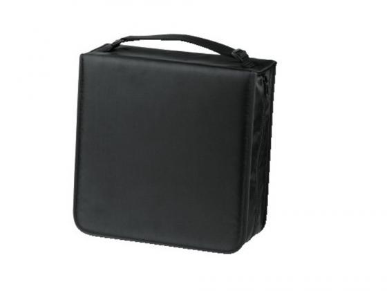 Портмоне HAMA Nylon для 208 CD черный H-33835