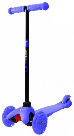 Самокат трехколёсный Y-SCOO Mini Shine A5 синий