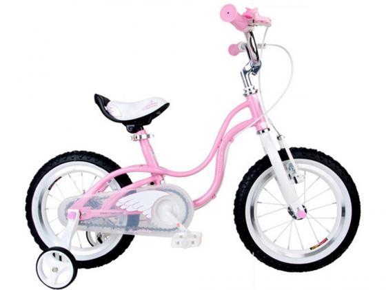 Велосипед двухколёсный Royal baby Little Swan 12 розовый