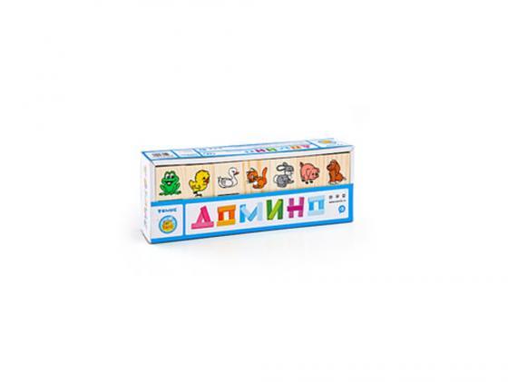 Настольная игра домино Томик Животные (28 костяшек) 5555-1