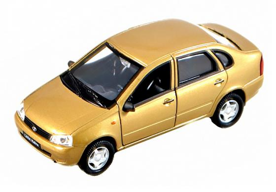 Автомобиль Welly Lada Kalina 1:34-39 автомобиль welly lada kalina такси 1 34 39 42383